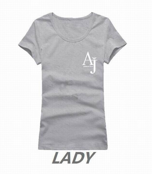 Armani short round collar T woman S-XL-071