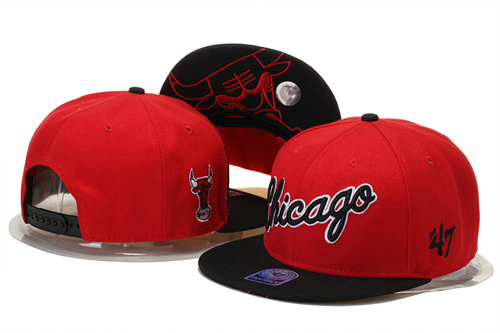 Chicago Bulls hats-153