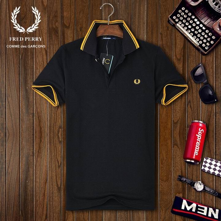 Fred Perry short lapel T man S-3XL-026