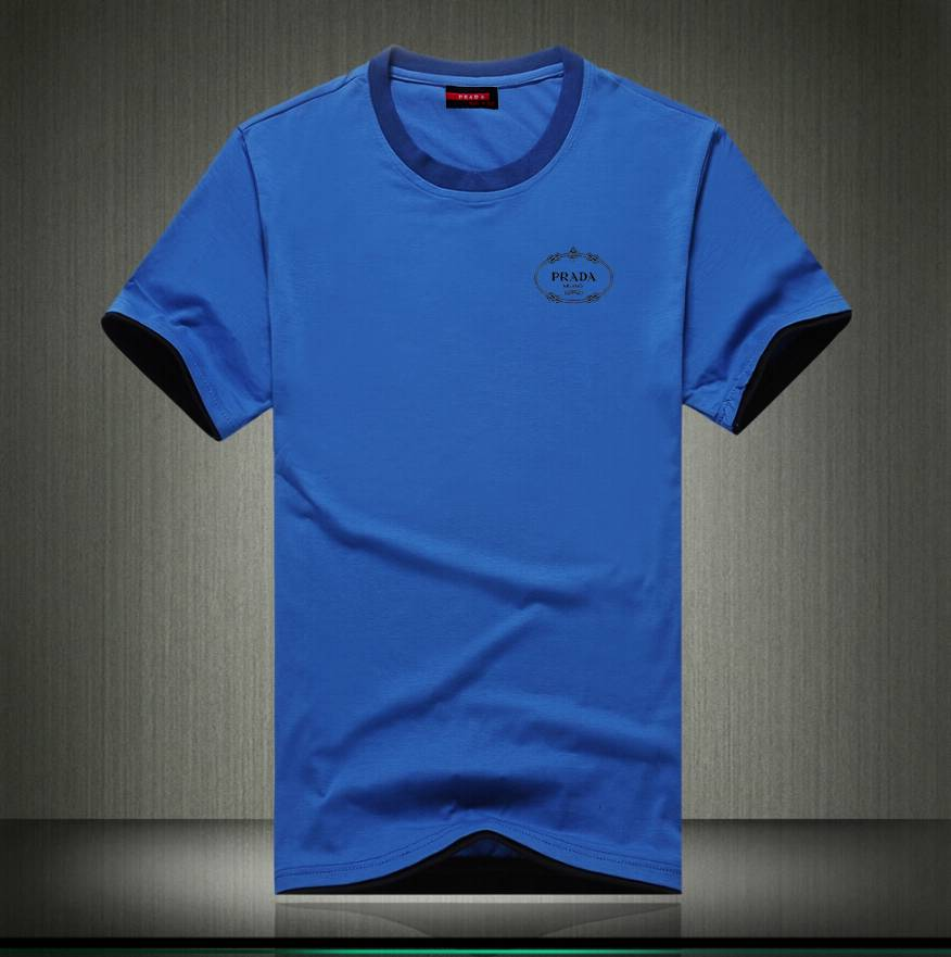 Prada short round collar T man S-3XL-096